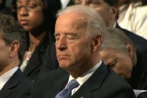 biden asleep