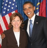 hagan and obama