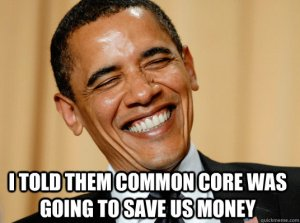 Obama Common Core Savings