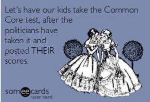 CommonCore Test scores