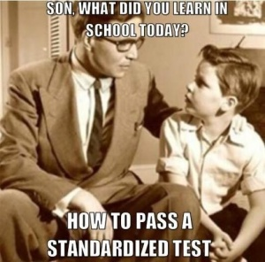 how to pass a standardized text