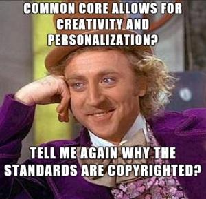 Wonka CommonCoreStandards