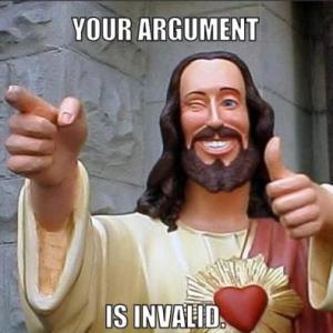jesus invalid argument
