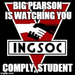 Pearson Is Watching INGSOC