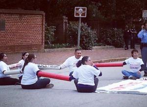 illegals protest hb318