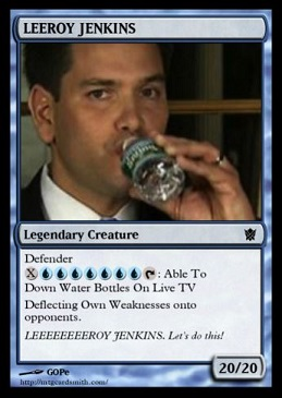 Rubio Leeroy Card