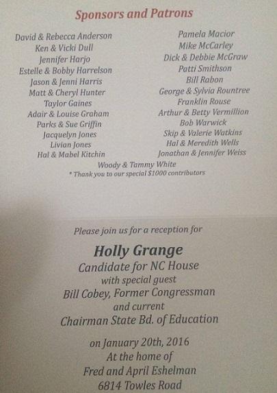 Grange - Cobey Fundraiser
