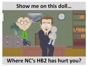 Show Me Where HB2 Hurt You