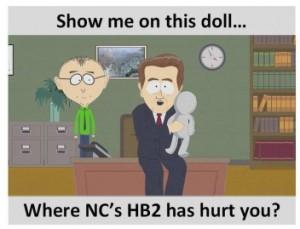 Show Me Where HB2 Hurt You