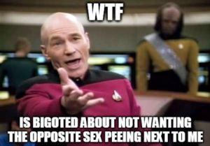 Picard WTF Bigot