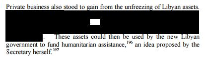 Benghazi Report - Pg 47RedactedPrivate Gain