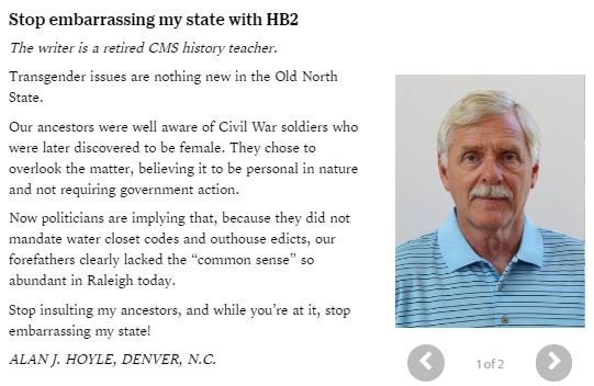 080816 Alan Hoyle NC History Teacher - women who were Civil war soldiers - Charobs