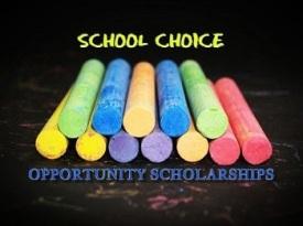 Chalk - School Choice- OPPORTUNITY SCHOLARSHIP PROGRAM TRUTHS