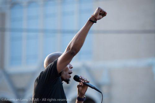 Lamont Lilly Socialist Durham black lives matter