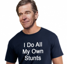 Roy Cooper Stunt T-Shirt Crop