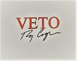 Roy Cooper - Veto Stamp AL1