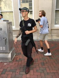 Armed Protesters - Protesters with Gun - Twitter Jason Debruyn sm