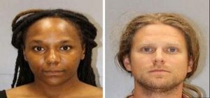 Bree-newsome-SC-arrest-shot-with-James-Tyson-300x141
