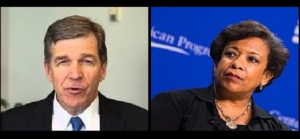 Roy Cooper Loretta Lynch