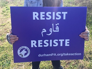 030417 Resist Yard Sign - Durham Peoples Alliance - Facebool