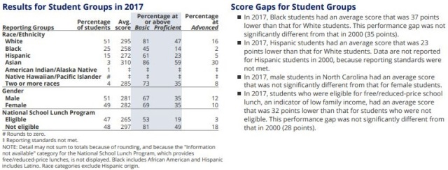 017 NNAEP 8 Math Demographics