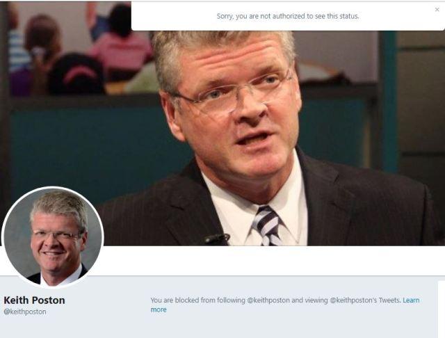 Keith Poston NC Public Schools Forum Blocks AP Dillon