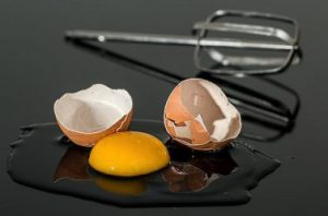 Broken Egg - Raw Egg - Unscrambled