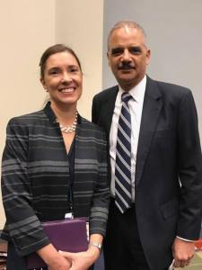 022818 Anita Earls FB With Eric Holder