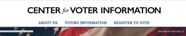 enter for Voting Info Banner