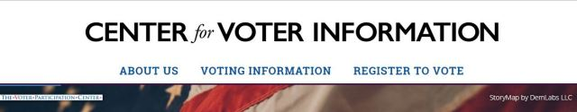 enter for Voting Info Banner