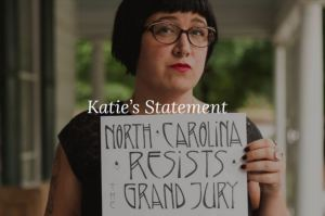 073117 Katie Yow - Anarchist - GOP Firebombing