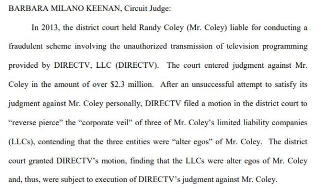 Circuit Judge Coley ruling 2013