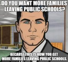 Archer Leaving Public Schools - school choice