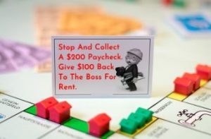 Monopoly Paycheck Rent