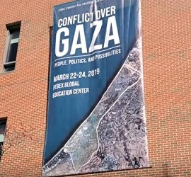Horowitz Video Screengrab - GAZA UNC1_sm - antisemitism- BDS