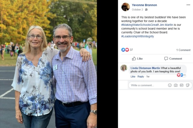 Yevonne Brannon, Jim Martin